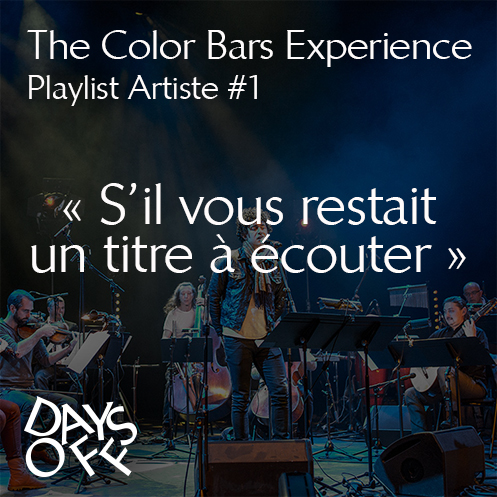 Playlist The Color Bars Experience